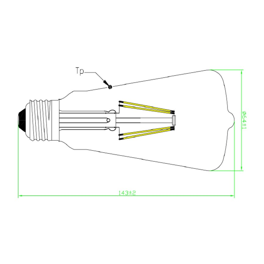 Technical Drawing for 0027504