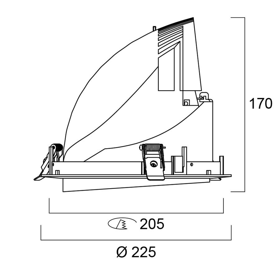 Technical Drawing for 3040025