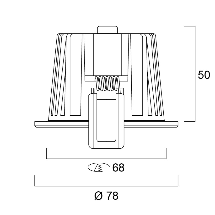 Technical Drawing for 3079451